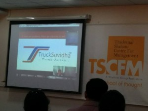 Presenting TruckSuvidha at Ignite2015