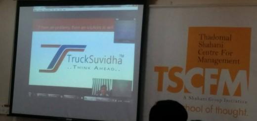 Presenting TruckSuvidha at TSCFM