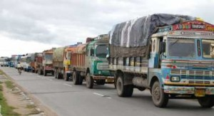 Truck freight rates for select centres move up
