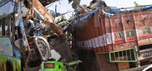 Accident at Aligarh-Delhi road