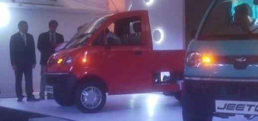 Mahindra unveils small commercial vehicle Jeeto range