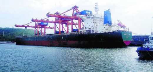 Visakhapatnam Port anchors Largest-ever bulk carrier
