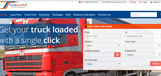 TruckSuvidha : A solution to Goods Delivery woes!