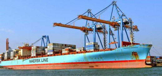 Longest container ships berths at Visakhapatnam Port