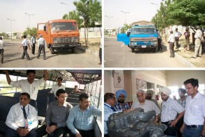 IRF to train commercial vehicles drivers