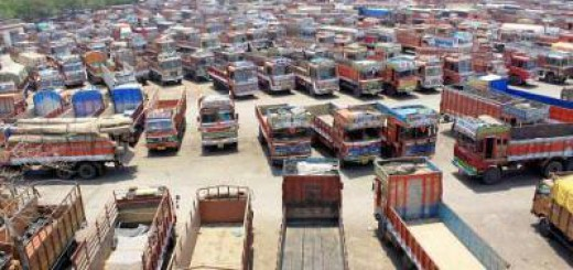 truck rentals drop 5-6% in January