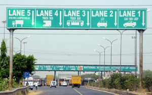 E-tolling system to become operational at over 300 plazas from April 1