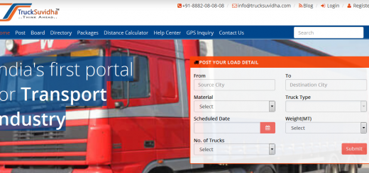 TruckSuvidha- Helping you load your truck with a single click.