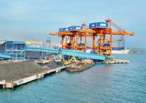 Visakhapatnam port handles 57.5 mt of cargo