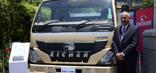Eicher forays into sub-5-tonne LCVs with Pro 1049 mini-truck