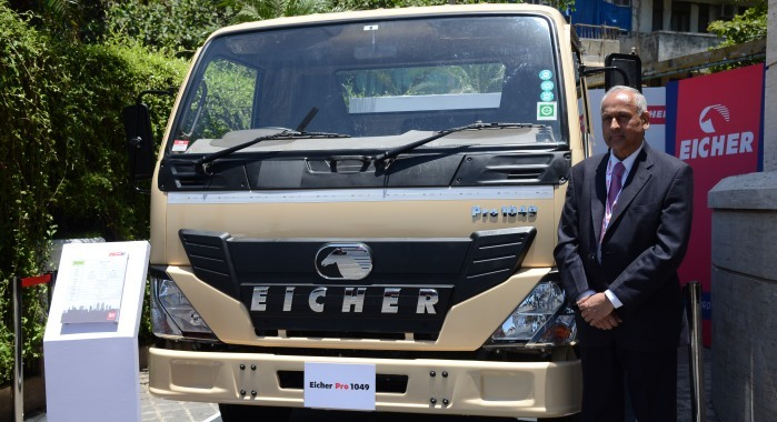 eicher motors entering into mini truck segment  eicher pro