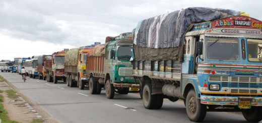 Truck freight rates grow marginally in April