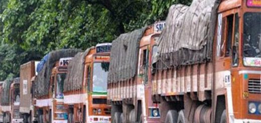 Distressed by huge bribe amount, Mangaluru truck owners demand hike in freight rates
