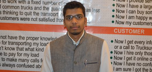Ishu Bansal, Co-founder of TruckSuvidha