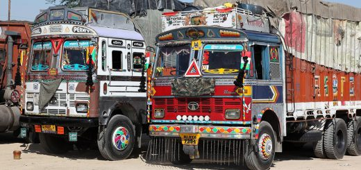 Rajasthan is leading seller of heavy vehicles in North India