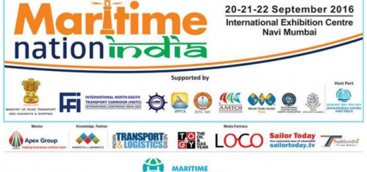 TruckSuvidha- Media partner of Maritime Nation India held in Sept 20-22, 2016