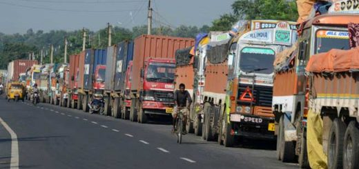 The transport association has decided to stop supply to security establishments.