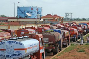 Tanker truck owners withdraw stir
