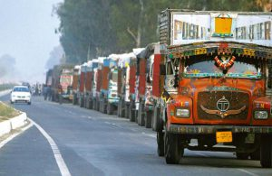 Car carriers protest Rajasthan government's move to hike penalty for entering state