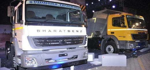 BharatBenz launches BS-IV compatible heavy duty truck range in Delhi