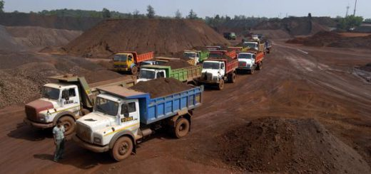 Mining truck drivers get warning over speeding