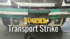 Sikkim transporters on indefinite strike