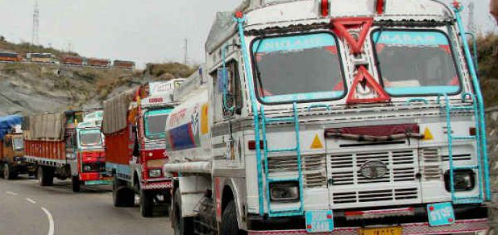 Freight rates decline on excess position of trucks