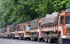 Freight rates up on busy cargo movements, shortage of trucks