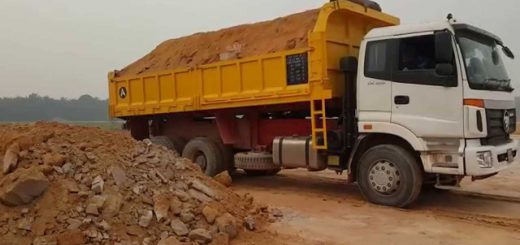 Govt begins preparing database of sand trucks