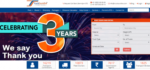 TRUCKSUVIDHA CELEBRATING COMPLETION OF THREE SUCCESSFUL YEARS