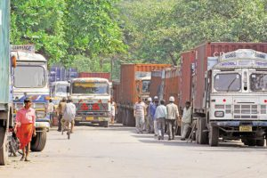 Freight rates go down on easy availability of trucks