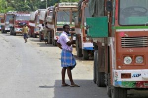 Truckers threaten strike over green tax