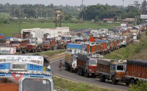 Trucks off roads, transporters demand action, not assurances