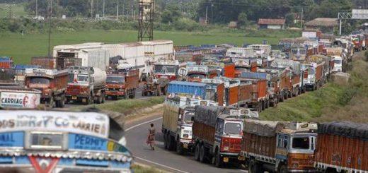 Trucks off roads, transporters demand action, not assurances