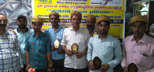 TruckSuvidha Honouring Indian Truck Drivers