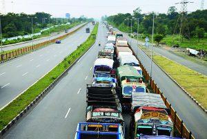 Ban on '10 to 20-wheel' Trucks
