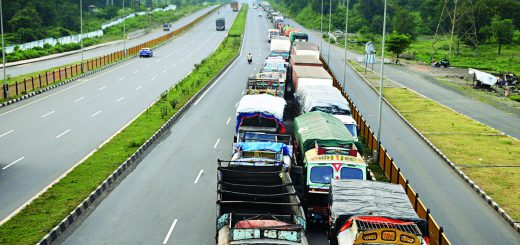 Ban on '10 to 20-wheel' Trucks