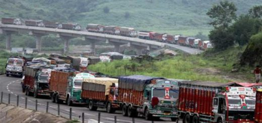 Truck operator protest 'double taxation'