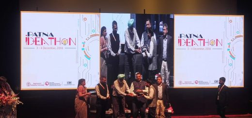 TruckSuvidha Won Prize at Patna Ideathon 2018 Event