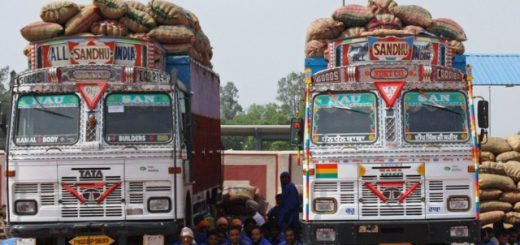 Truck, petroleum tanker drivers stage protest