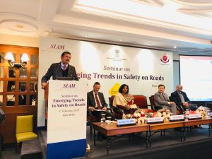 India's apex auto body bats for Road Safety