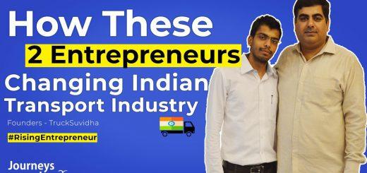 Journeys Inspire shared the story of TruckSuvidha!!!