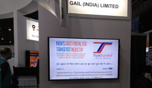 TruckSuvidha participated in PETROTECH -2019