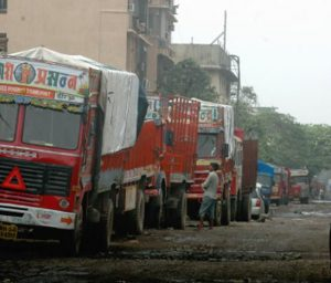 Now, truck companies cut production to manage stocks