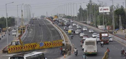 NHAI restricts heavy vehicles on Hero Honda flyover at night