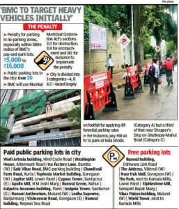 Trucks, buses to pay Rs 5,000 to Rs 15,000 for illegal parking from today