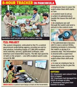 Technology gains as staff lose pay for missing work in Panchkula