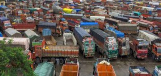 No mechanics or shops, truck drivers stranded