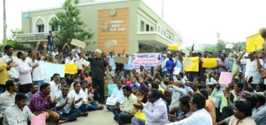 Dark Diwali for Over 48,000 Striking Telangana Transport Employees