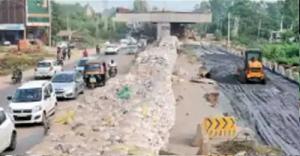 Drivers' nightmare under Kharar flyover unending